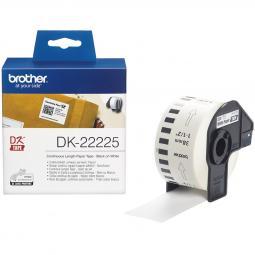 Etiquetas cinta continua brother blanca dk22225 38mm - Imagen 1