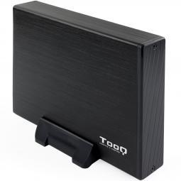 Caja externa tooq tqe - 3527b para hdd 3.5pulgadas sata usb 3.0 - Imagen 1
