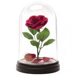 Lampara paladone icon disney bella y la bestía rosa encantada - Imagen 1