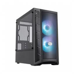 Torre micro atx coolermaster masterbox mb311l argb cristal templado - Imagen 1
