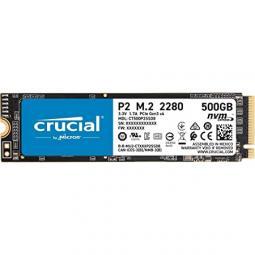 Disco duro interno solido ssd crucial p2 ct500p2ssd8  500gb m.2 nvme - Imagen 1
