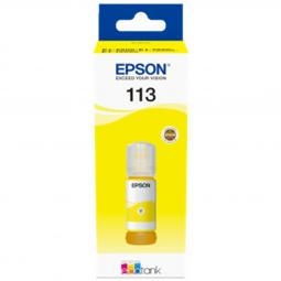 Cartucho tinta epson 113 ecotank pigment c13t06b440 amarillo ink bottle - Imagen 1