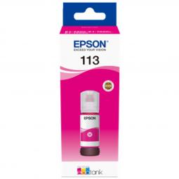 Cartucho tinta epson 113 ecotank pigment c13t06b340 magenta ink bottle - Imagen 1