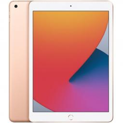Apple ipad 10.2  2020 32gb wifi gold 8 gen 10.2 - retina - chip a12 - 8 mpx - compat. apple pencil 1 mylc2ty - a - Imagen 1