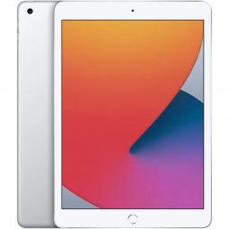 Apple ipad 10.2  2020 128gb wifi silver 8 gen 10.2 - retina - chip a12 - 8 mpx - compat. apple pencil 1 myle2ty - a - Imagen 1