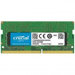 Memoria ddr4 8gb crucial - sodimm - 2666 mhz - pc4 21300 - Imagen 1