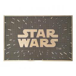 Felpudo pyramid star wars logo - Imagen 1