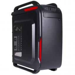Caja ordenador atx negra pc elite black lion it1523 con ventana usb 3.0 + card reader gaming - Imagen 1