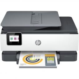 Multifuncion hp inyeccion color officejet pro 8022e all in one fax -  a4 -  29ppm -  usb -  red -  wifi -  duplex impresion -  a
