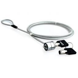 Cable de seguridad natec lobster 1.8 m para portatil con llave - Imagen 1
