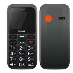Telefono movil denver 1.77pulgadas - sms - dual band - dual sim - camara - boton sos - para mayores - Imagen 1