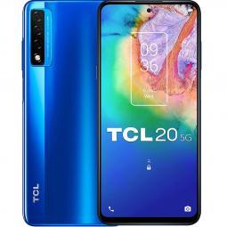 Telefono movil smartphone tcl 20 5g ocean blue 6.67pulgadas -  128gb rom -  6gb ram -  48+8+2 mpx -  8 mpx - - Imagen 1