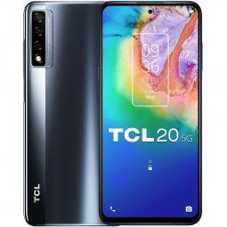 Telefono movil smartphone tcl 20 5g streamer gray 6.67pulgadas -  128gb rom -  6gb ram -  48+8+2 mpx -  8 mpx - - Imagen 1