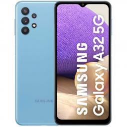Telefono movil smartphone samsung galaxy a32 5g blue 6.5pulgadas -  64gb rom -  4gb ram -  48+8+5+2 mpx -  13mpx -  dual sim -