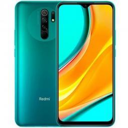 Telefono movil smartphone xiaomi redmi 9 ocean green -  6.53pulgadas -  32gb rom -  3gb ram -  13+8+5+2mpx -  8mpx -  5020mah -