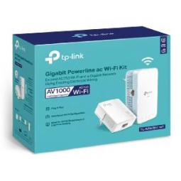 Kit de adaptadores powerline ac tp - link tl - wpa7517 kit dual band - Imagen 1