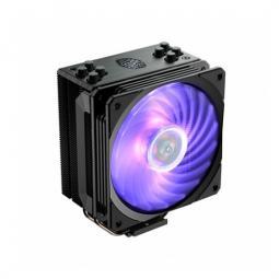 Ventilador disipador cooler master hyper 212 rgb black edition multisocket - Imagen 1