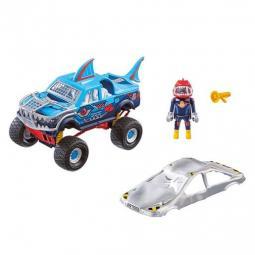 Playmobil stuntshow monster truck shark - Imagen 1