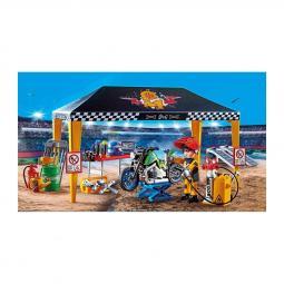Playmobil stuntshow tienda taller - Imagen 1