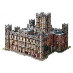 Puzzle 3d wrebbit edificios emblematicos downtown abbey 850 piezas - Imagen 1