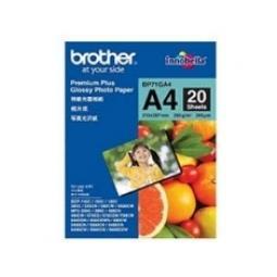 Papel foto brother premium plus lbp71ga4 20 hojas dcp - 165c dcp - 195c dcp - 375cw dcp - 385c mfc - 295cn - Imagen 1
