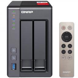 Servidor nas qnap ts - 251+ 2gb red usb gigabit rj45 - Imagen 1