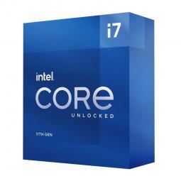 Micro. intel i7 11700kf lga 1200 11ª generacion 8 nucleos 3.60ghz 16mb no graphics in box - Imagen 1