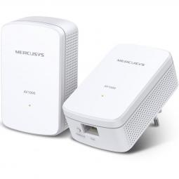 Kit de repetidores wifi mercusys mp500 kit av1000 gigabit -  pack 2 unidades - Imagen 1