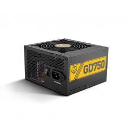 Fuente alimentacion nox hummer gd750 750w 80+ gold atx negro - Imagen 1