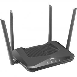 Router wifi d - link dir - x1560 4 puertos lan 1 puero wan ax1500 dual band 4 antenas - Imagen 1