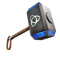 Replica hasbro marvel martillo thor mjolnir con luz - Imagen 1
