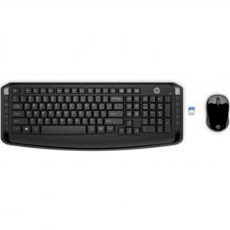 Kit teclado + mouse raton hp 300 wireless inalambrico - Imagen 1