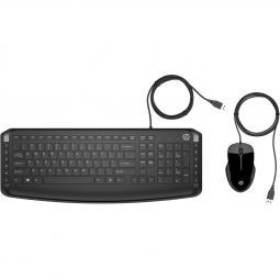 Kit teclado + mouse raton hp pavilion 200 9df28aa usb 2.0 - Imagen 1