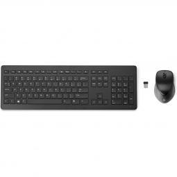 Kit teclado + mouse raton hp 950mk wireless inalambrico recargables - Imagen 1