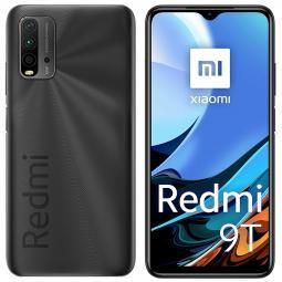 Telefono movil smartphone xiaomi redmi 9t carbon grey -  6.53pulgadas -  128gb rom -  4gb ram -  48+8+2+2mpx -  8mpx -  6000 mah