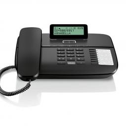 Telefono fijo gigaset da710 negro -  manos libres - Imagen 1