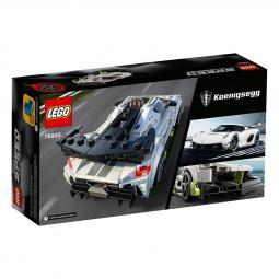 Lego construcciones coche de carreras koenigsegg jesko 76900 - Imagen 1