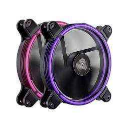 Pack ventiladores enermax gaming rgb 2x14cm - Imagen 1