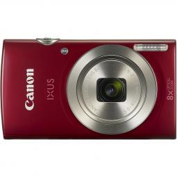 Camara digital canon ixus 185 roja 20mp zoom 16x -  zo 8x -  2.7pulgadas+ funda - Imagen 1