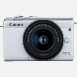 Camara digital canon eos m200 blanca ef - m -  24.1mp -  digic 8 -  4k -  wifi -  bluetooth - Imagen 1