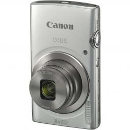 Camara digital canon ixus 185 plata 20mp zoom 16x -  zo 8x -  2.7pulgadas+ funda - Imagen 1