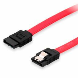 Cable serial sata equip datos con clip de seguridad 0.30m - Imagen 1