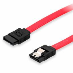Cable serial ata equip 0.5m con clip de seguridad - Imagen 1