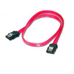 Cable serial sata iii equip con clip de seguridad 0.5m - Imagen 1