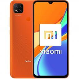 Telefono movil smartphone xiaomi redmi 9c naranja 6.53pulgadas -  32gb rom -  2 gb  ram -  13+2+2mpx - 5mpx -  5000 mah -  4g -