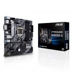 Placa base asus intel prime b460m - a socket 1200 ddr4 x4 2933mhz max 128gb dvi - d display port hdmi matx - Imagen 1