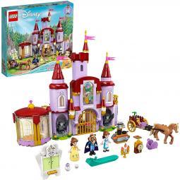 Lego disney construcciones la bella y la bestia castillo de bella y bestia - Imagen 1