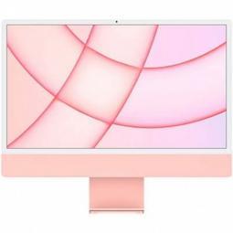 Ordenador apple imac 24pulgadas retina 4.5k pink 2021 chip m1 8c -  8gb -  ssd256gb -  gpu 7c -  touch id - Imagen 1