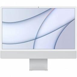 Ordenador apple imac 24pulgadas retina 4.5k silver 2021 chip m1 8c -  8gb -  ssd256gb -  gpu 7c -  touch id - Imagen 1