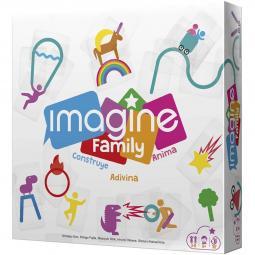 Juego de mesa asmodee imagine family pegi 12 - Imagen 1